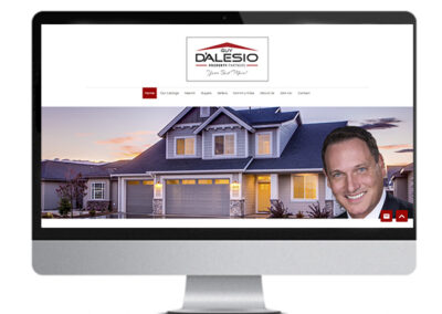 D'Alesio Property Partners Website